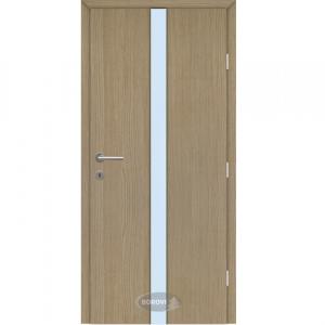 CPL edzett üveges beltéri ajtó – Kuru