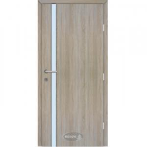 CPL edzett üveges beltéri ajtó – Naxosz